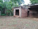 Land with Half Complete house for sale in Aluwiharaya, Matale